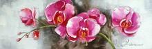 Prosperous flower oil painting for home decoration 42867