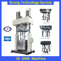 Silicone rubber dispersing power mixing machine