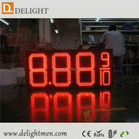 led gasoline price signs/ outdoor led gas pricing signs/ cricket scoreboard for sale