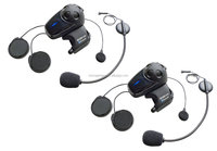 Sena SMH10D-11 Motorcycle Bluetooth Headset/Intercom with Universal Microphone Kit (Pack of 2)