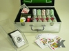 casino poker chip set in aluminum case for cheap carrying case with game