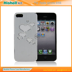 Cheap LED flash light mobile phone case for iphone5