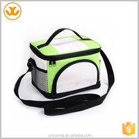 Outdoor eco-friendly cheap insulated oxford green hot and cold cooler bag