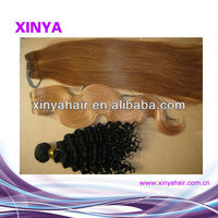 Shown New Style Virgin Brazilian various kinds hair color weave pictures