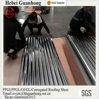 0.23mm thick ASTM Galvanized Corrugated Steel Sheet for Roof