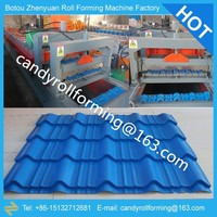 Roofing Tile Forming Machine,steel tile forming machine,glazed tile roll forming machine