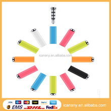 Hot 360 Click Smart Quick Button Xiaomi Mikey Mi Key 3.5mm Earphone Jack anti dust Plug for Android WP Phone