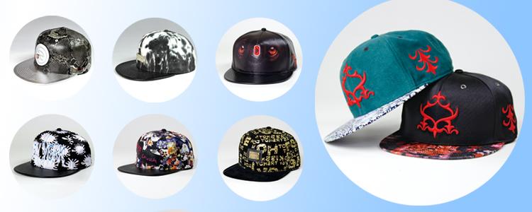 short brim metal plate hip-hop snapback hat 190336b4f28