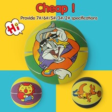 logo could be printed colorful rubber basketball,outdoor basketball