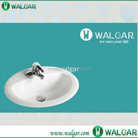Chinese porcelain ceramic sink with cUPC certificate;Drop-in Ceramic Sink;Counter Sink