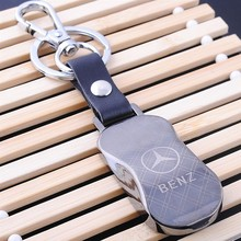 factory tungsten steel logo print key chain with car shape for business promotion