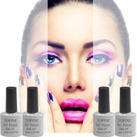 Vans colors one step gel polish, multifuntionable gel nail polish, 3in1 gel color