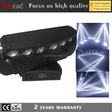 stage lighting 6pcs 15 watts led big sharply beam moving head beam light
