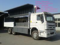 SINOTRUK HOWO 30 Tons Special wing Van cargo truck