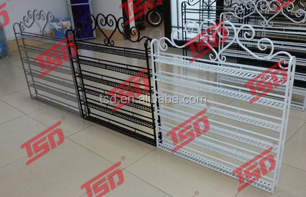 metal nail polish wall rack