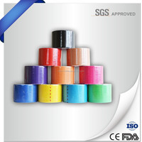 Muscle therapeutic kinesiology tape (CE,FDA approved)