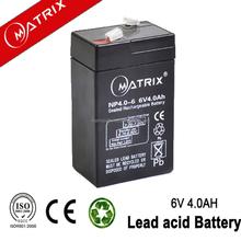 Popular 6v 4ah electronic speaker msds lead acid battery