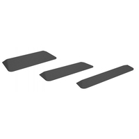 Ali baba.com Low Price! Black High Quality Rubber Threshold Ramp