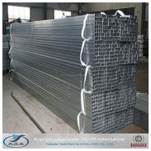In acciaio zincato saldato piazza tube@rectangular usato tubo a effetto serra e struttura