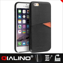 QIALINO High Class Cow Leather Phone Case For Apple For Iphone 6s