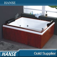 HS-B283 indoor two people use wooden frame antique tubs for sale