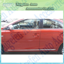 Stainless Steel Car Part Body Trim Side Door Streamer auto accessories from kaigefen for Vios 2014+