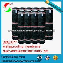 membrana impermeabilizante de betún para techos