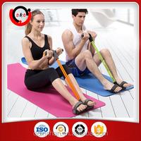 Portable hand foot pedal exerciser for elderly