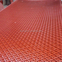vinyl coated expanded metal/pvc coated expanded metal mesh/spray paint expanded metal sheet
