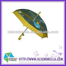 Auto Open Kids' transparent advertise umbrella