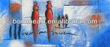 100% Hand-painted Modern art original on canvas oil paintings for living room