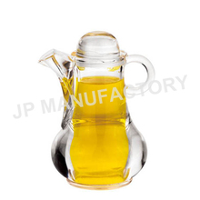 Acrylic oil and vinegar plastic cruet