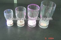 hot sell led glass cup