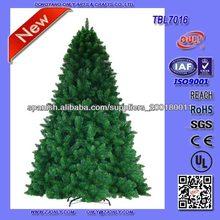 7ft 210cm Venta caliente Jardín Arboles de Navidad con pie metálico