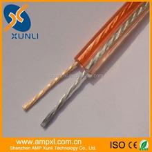 transperant 14/16awg copper speaker cable