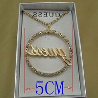 Колье-цепь Mini.Order.$5.Can items.h504 , necklace.circur