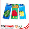 Factory new products courty flag shape paper air freshener for cars manufactory,car fresheners