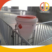 Poultry equipment galvanized steel crate