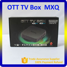 MXQ Android TV Box Quad Core with XBMC 13.2 Pre-installed