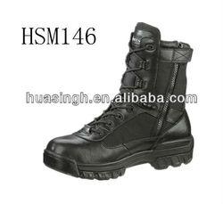 DH,mens black Bates 8 inch ultra elite combat side zipper boots