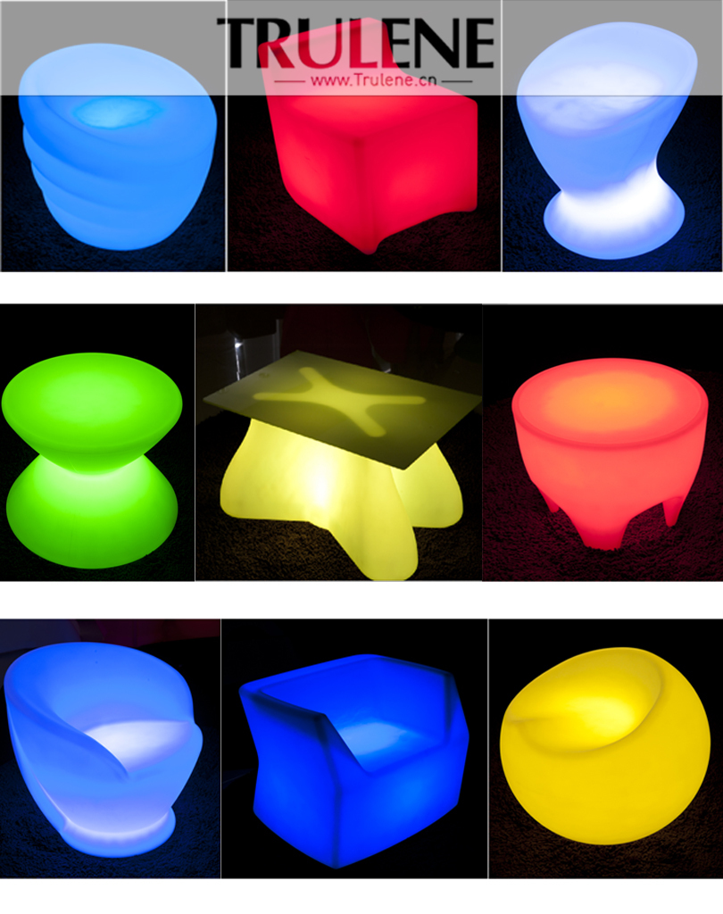 2015 Color Changing Led Outdoor Furniture