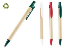 New Promotion Eco Paper Pens Recycled Paper Barrel