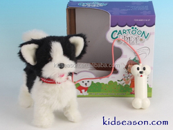 ELECTRONIC LINE CONTROL PLUSH PUPPY/DOG WITH ACTION