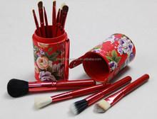 12 piece Rose Brush for Makeup Private Label makeup brush kit/Kabuki Professional Makeup Brush