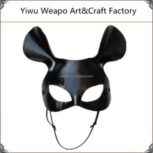 New arrival hot sale lady fancy carnival mask venetian black masquerade mask