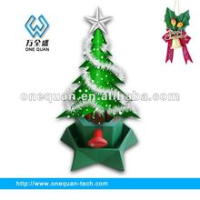 2012 christmas tree stands plastic green