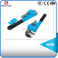 Malleable steel head pipe wrench/ratchet pipe wrench/hydraulic pipe wrench