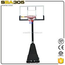 Polycarbonate basketball backboard,outdoor basketball board