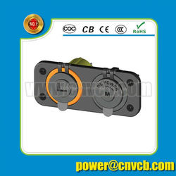 2015 12v DC 5.5mm x 2.1mm Power Solar Cable for motorcycle/Car/ATV/Boat battery