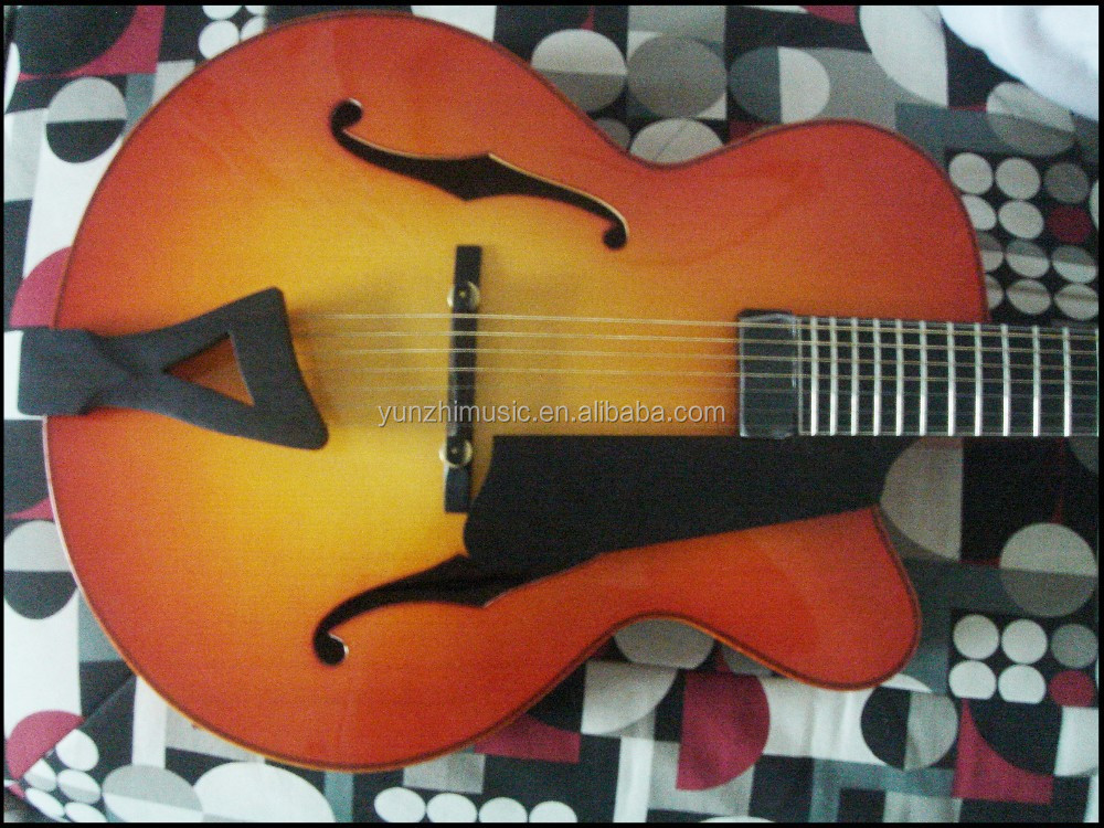 Archtop Jazz Guitar Kit Archtop Jazz Guitar For